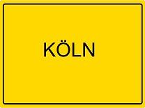 Ortsschild Köln 208 x 155