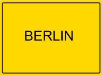 Ortsschild Berlin
